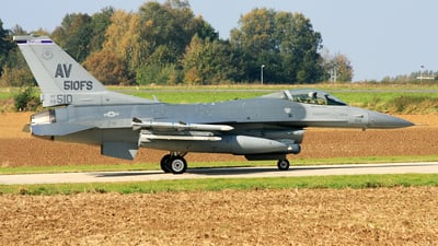 88-0510 - General Dynamics F-16C Fighting Falcon - United States - US Air Force (USAF)