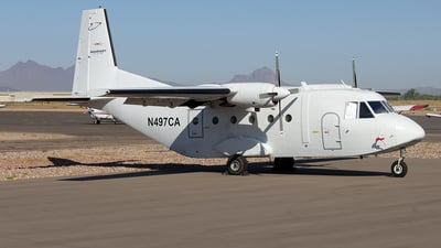 N497CA - CASA C-212-200 Aviocar - Rampart Aviation