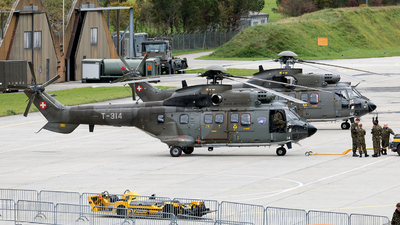 T-314 - Aérospatiale AS 332M1 Super Puma - Switzerland - Air Force