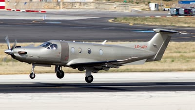 LX-JFY - Pilatus PC-12/47 - Jetfly Aviation