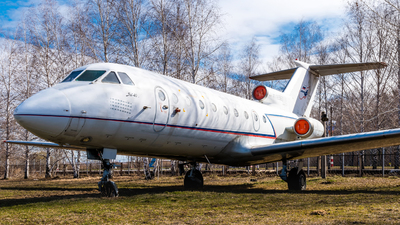 RA-87653 - Yakovlev Yak-40 - Ulyanovsk Higher Civil Aviation School