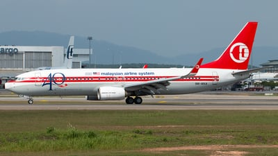 A picture of 9MMXA - Boeing 7378H6 - Malaysia Airlines - © Hon Kit