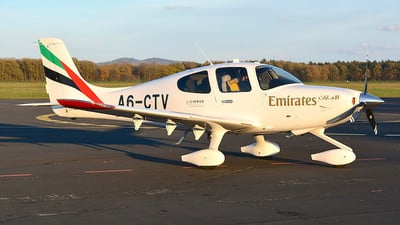 A6-CTV - Cirrus SR22-G6 - Emirates Flight Training Academy