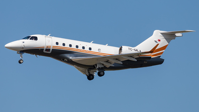 TC-MLA - Embraer EMB-550 Legacy 500 - Private