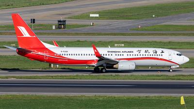 B-5320 - Boeing 737-8Q8 - Shanghai Airlines