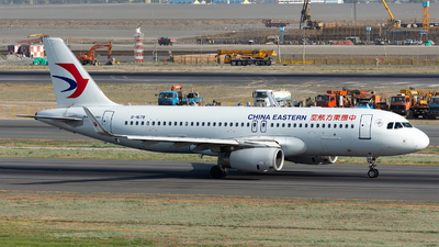 A picture of B1678 - Airbus A320232 - China Eastern Airlines - © Marcus Yu