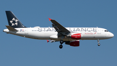 OE-LBZ - Airbus A320-214 - Austrian Airlines