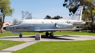 60-3483 - North American T-39A Sabreliner - United States - US Air Force (USAF)