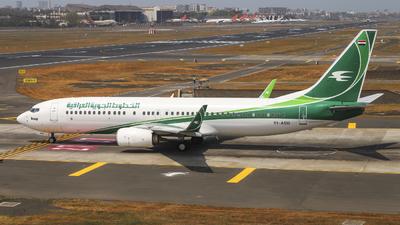 YI-ASU - Boeing 737-81Z - Iraqi Airways
