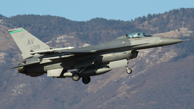 89-2116 - Lockheed Martin F-16C Fighting Falcon - United States - US Air Force (USAF)