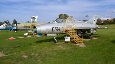 0514 - Mikoyan-Gurevich MiG-21F-13 Fishbed C - Czechoslovakia - Air Force