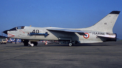 40 - Vought F-8E(FN) Crusader - France - Navy