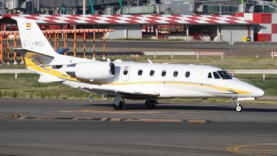 EC-MSS - Cessna 560XL Citation Excel - Gestair Private Jets