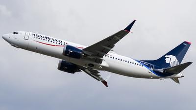 XA-MAL - Boeing 737-8 MAX - Aeroméxico