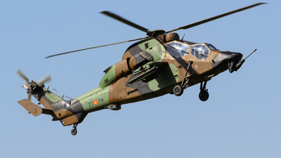 HA.28-14-10044 - Eurocopter EC 665 Tiger HAD - Spain - Army