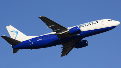 YR-BAF - Boeing 737-322 - Blue Air