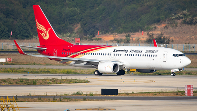 A picture of B6495 - Boeing 7378LY - Kunming Airlines - © LingFeng