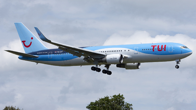 A picture of PHOYI - Boeing 767304(ER) - TUI fly - © Daniel Veronesi - RomeAviationSpotters