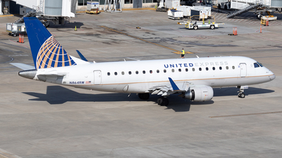 A picture of N864RW - Embraer E170SE - United Airlines - © Felipe Garcia
