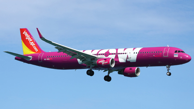 HS-VKL - Airbus A321-211 - Thai VietJet Air