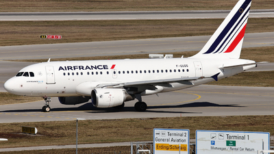 A picture of FGUGG - Airbus A318111 - Air France - © Domi Einert