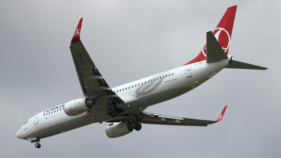 TC-JGF - Boeing 737-8F2 - Turkish Airlines