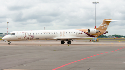 5A-LAM - Bombardier CRJ-900 - Libyan Airlines