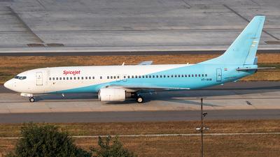 A picture of VTSXB - Boeing 7378K9 - SpiceJet - © Sandeep Pilania