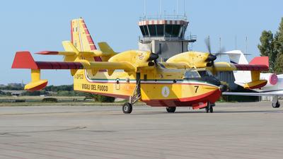 I-DPCD - Canadair CL-415 - Italy - Vigili del Fuoco