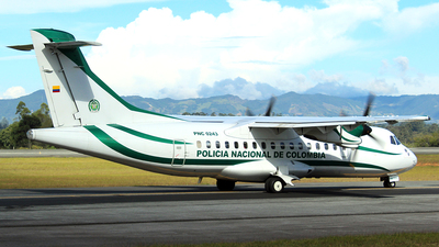 PNC-0243 - ATR 42-300 - Colombia - Police