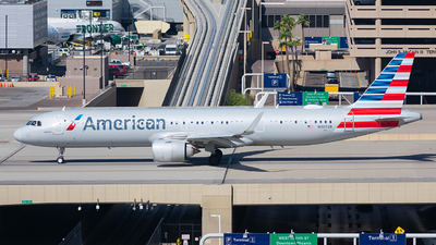 A picture of N407AN - Airbus A321253NX - American Airlines - © Taxi_Way_