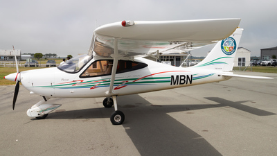 ZK-MBN - Tecnam P2008 - New Zealand Airline Academy