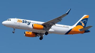 YR-BEE - Airbus A320-232 - HiSky