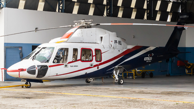 A picture of PPMBJ - Sikorsky S76A - [760142] - © ham34_spotter