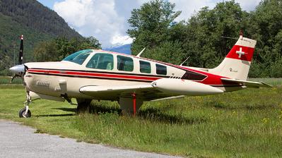 A picture of HBEJE - Beech A36TC Bonanza - [EA118] - © Alex