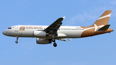PK-SAV - Airbus A320-232 - Super Air Jet
