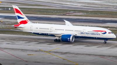 A picture of GZBJC - Boeing 7878 Dreamliner - British Airways - © Luis Singer