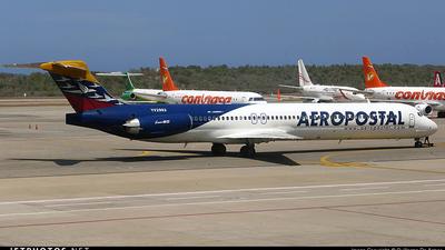 A picture of YV2992 - McDonnell Douglas MD82 - [53206] - © Guillermo De Armas