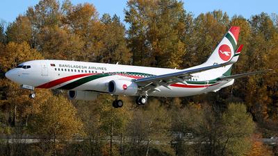 N6067E - Boeing 737-8E9 - Biman Bangladesh Airlines