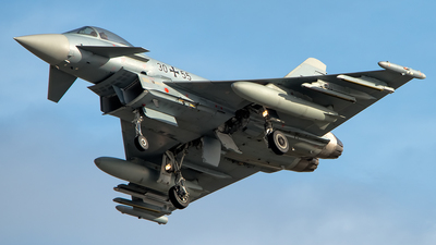 30-55 - Eurofighter Typhoon EF2000 - Germany - Air Force