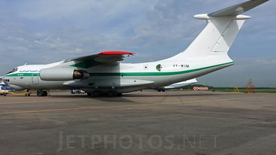 7T-WIM - Ilyushin IL-76TD - Algeria - Air Force