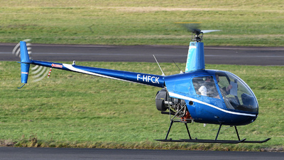 F-HFCK - Robinson R22 Beta II - Hégé Helicopters