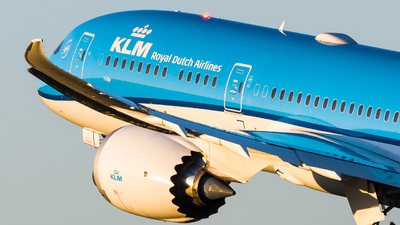 PH-BHP - Boeing 787-9 Dreamliner - KLM Royal Dutch Airlines
