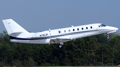 N791JP - Cessna 680 Citation Sovereign - Private