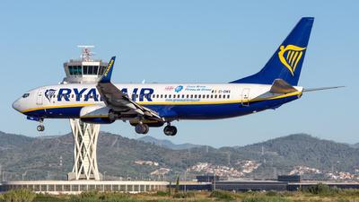 A picture of EIDWX - Boeing 7378AS - Ryanair - © Ramon Jordi
