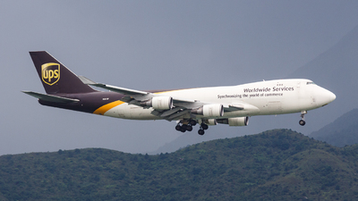N581UP - Boeing 747-4R7F(SCD) - United Parcel Service (UPS)