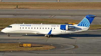 A picture of N912EV - Mitsubishi CRJ200LR - United Airlines - © Jason Whitebird
