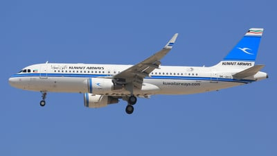 9K-AKG - Airbus A320-232 - Kuwait Airways