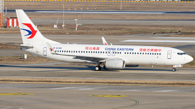 A picture of B6148 - Boeing 73789P - China Eastern Airlines - © H.C.