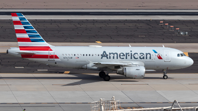 A picture of N767UW - Airbus A319112 - American Airlines - © 702Aviationn